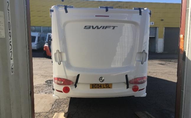 Import Caravan from UK to NZ | Import Baileys Caravan | Extreme Global